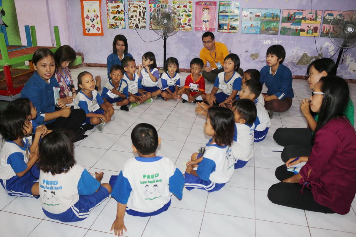 Pengaruh Kontekstual Preschool pada Perkembangan Anak Balita di Surabaya, Jawa Timur