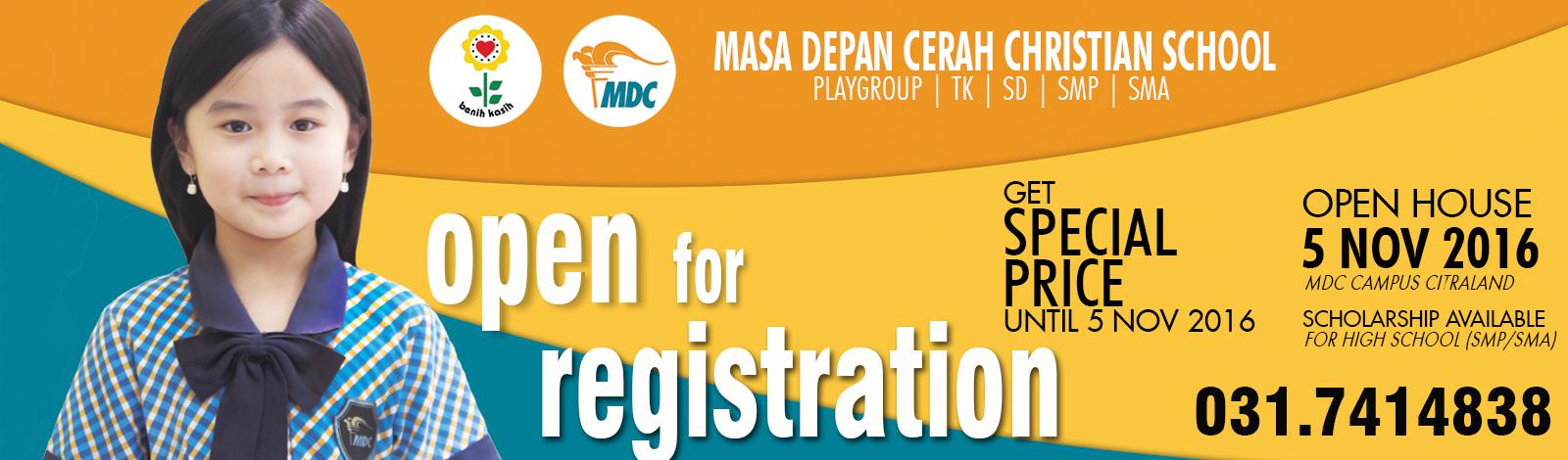 slider open registration for web