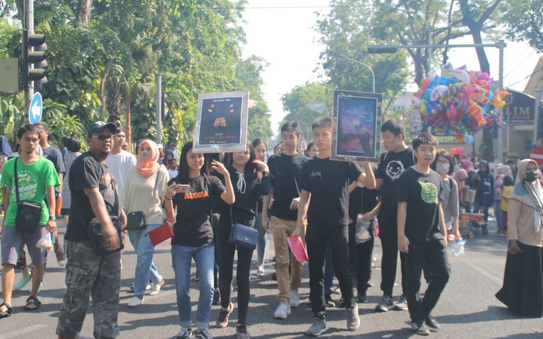 Aksimoe MDC 2019 – Save Our Earth Campaign, Car Free Day Raya Darmo Surabaya